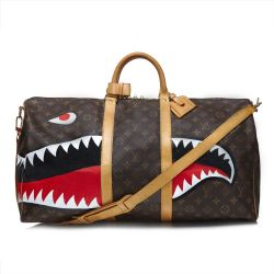 "Louis Vuitton ""Shark"" Keepall"