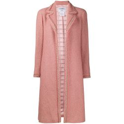 Chanel Pink Wool Bouclé Coat