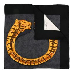 Cartier Panther Cuff Print Scarf SOLD