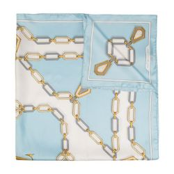 Cartier Chain Print Silk Scarf