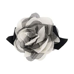 Chanel Silk Organza Camelia Brooch SOLD