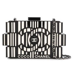 Chanel Runway Op-art Lego Boy