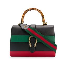 Gucci Dionysus Bamboo Handle Large Leather Tote
