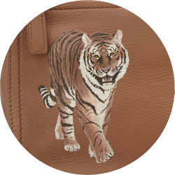 Bag Customisation Preying Tiger