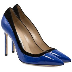 Manolo Blahnik Cobalt Blue Pumps
