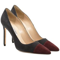 Manolo Blahnik Bi-color Pumps
