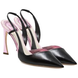 Christian Dior Black & Pink Pumps