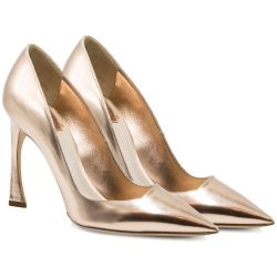 Christian Dior Gold Pumps