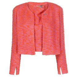 Chanel Tweed Coral Twinset