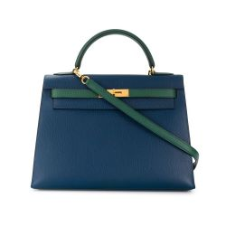 Hermes Bi Colour Kelly Bag