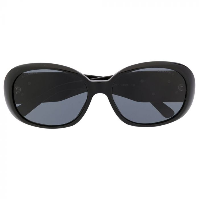 Chanel Oversized Tinted Sunglasses