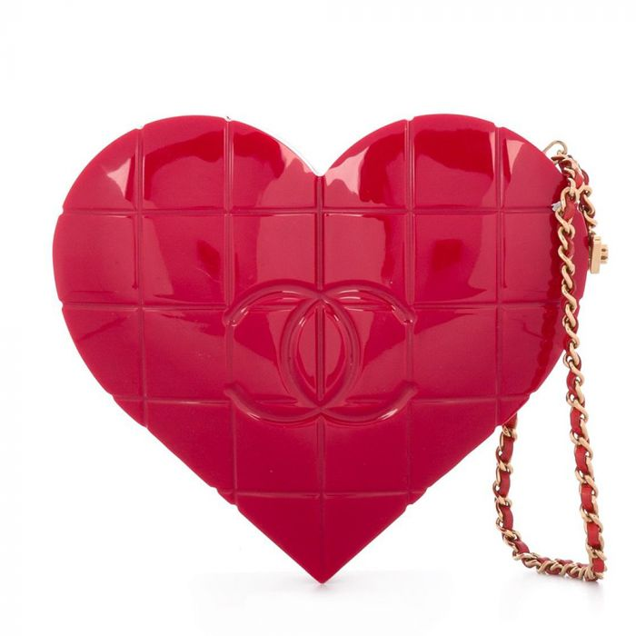 Chanel Heart Minaudière SOLD