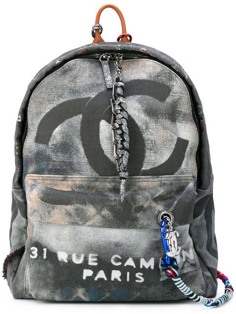 Chanel Graffiti Backpack SOLD