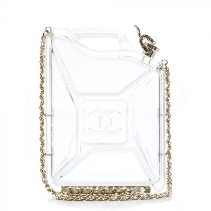 Chanel 'Dubai By Night' Gas Tank Clutch Bag SOLD