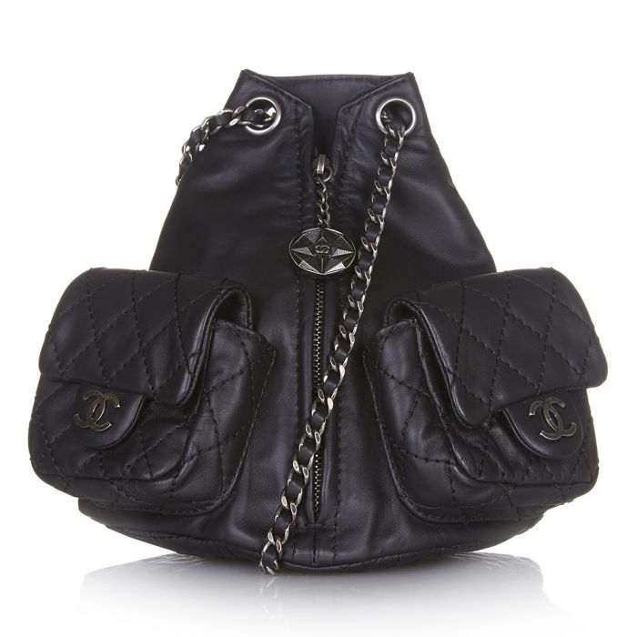 Chanel Mini Leather Backpack SOLD