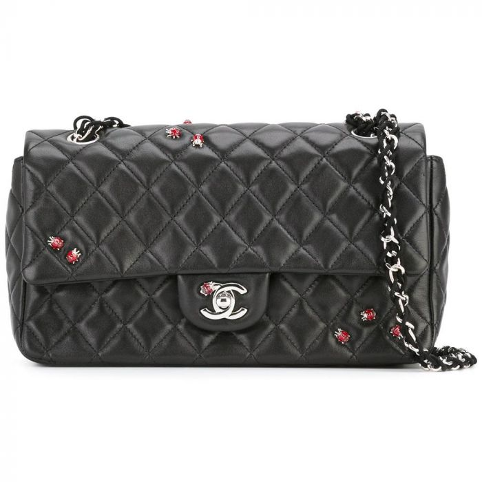 Chanel Ladybug Black 2.55 Handbag SOLD