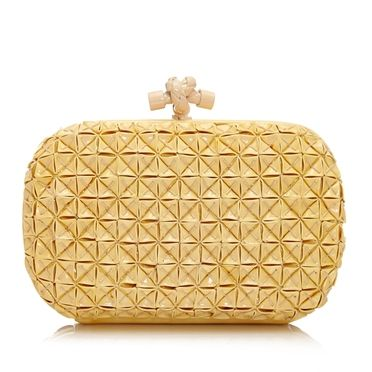 Bottega Veneta PVC Knot Clutch SOLD