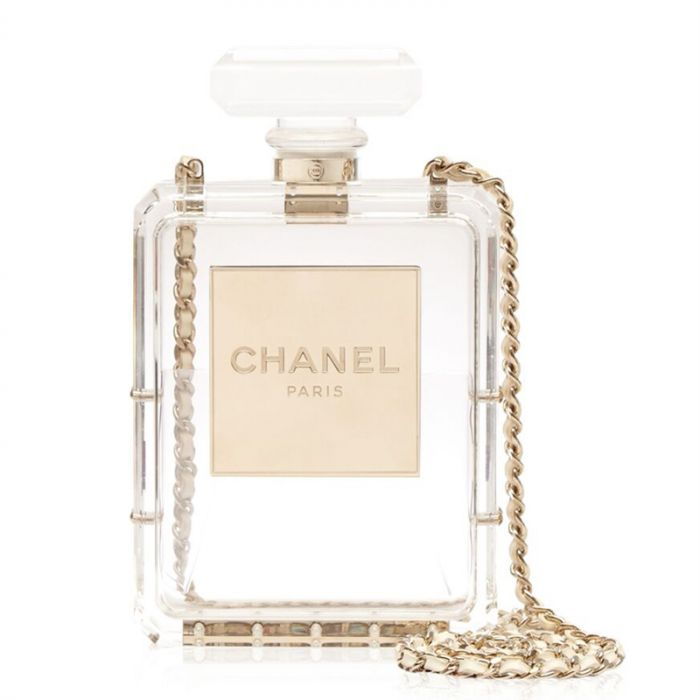 Chanel No5 Perfume Bottle Bag SOLD