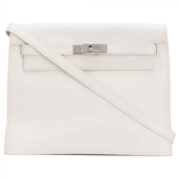 Hermes White Kelly Danse Bag SOLD