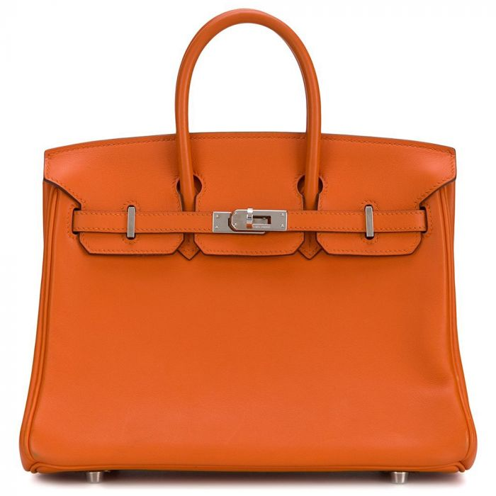 Hermès Orange Feu 25cm Birkin Bag SOLD