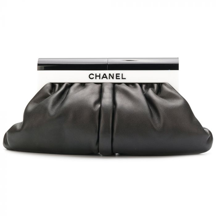 Chanel Black & White Perspex and Lambskin Bag SOLD