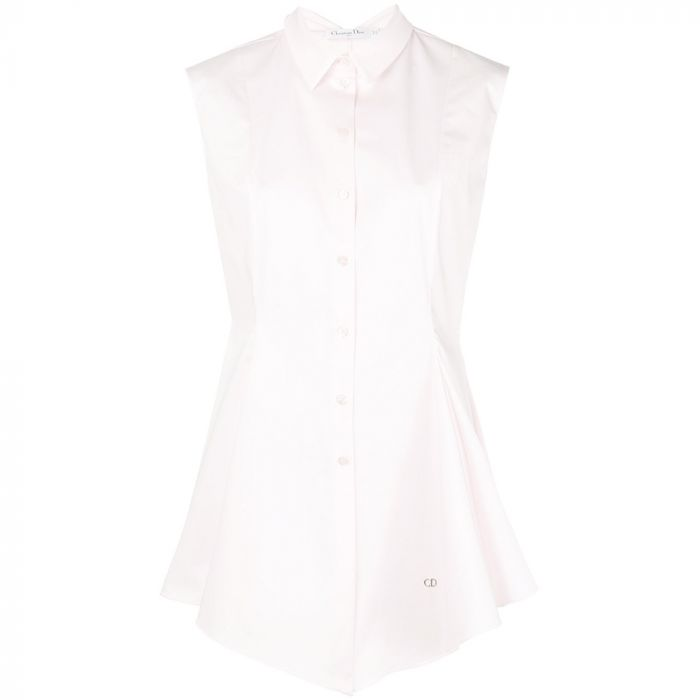 Dior Pink Sleeveless Shirt