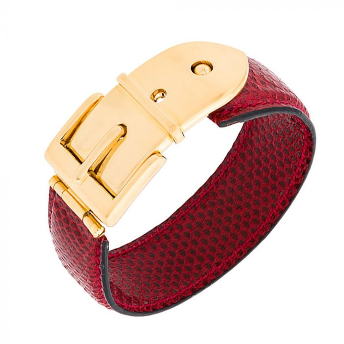 Gucci Buckle Belt Bracelet