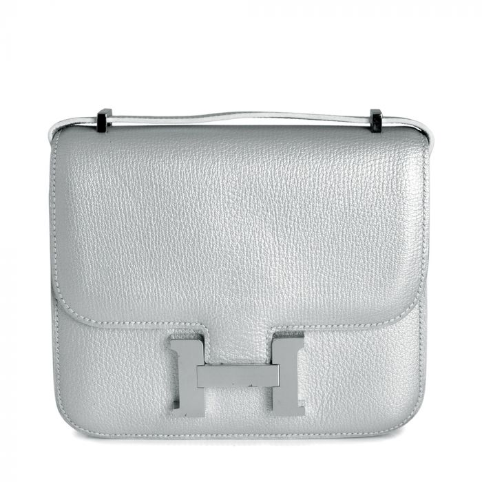 Hermes Small Silver Constance Bag SOLD