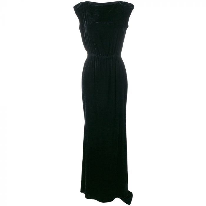 Lanvin Black Couture Gown