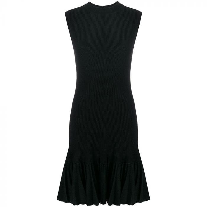 Alaïa Ruffled Sleeveless Dress