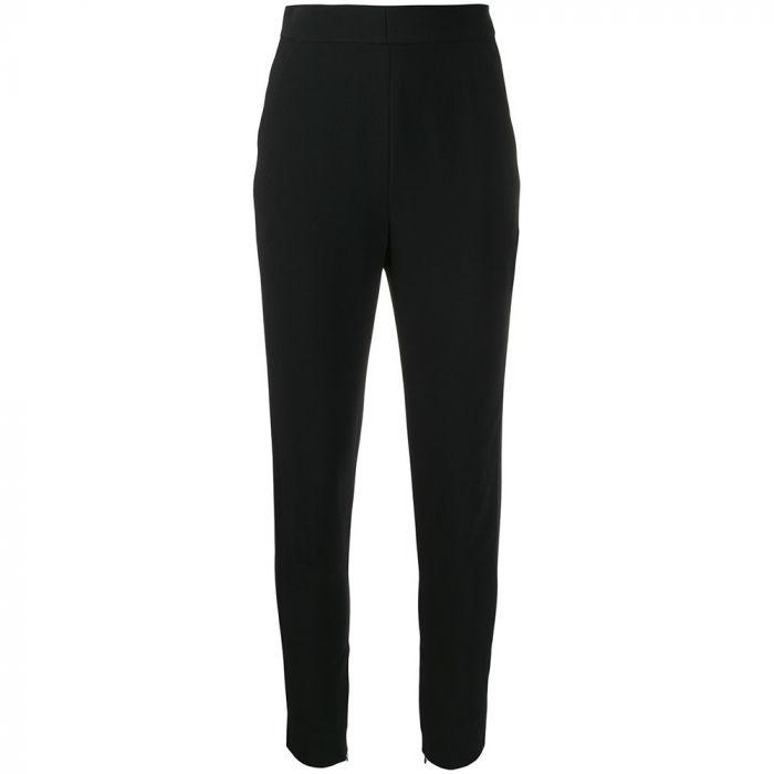 Chloe Black Silk Trousers