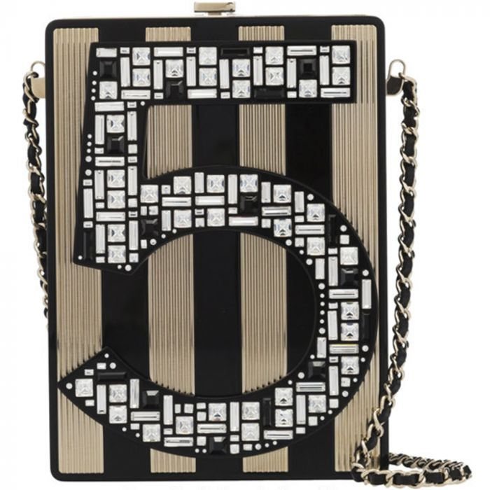 Chanel Limited Edition No. 5 Plexiglass Minaudière