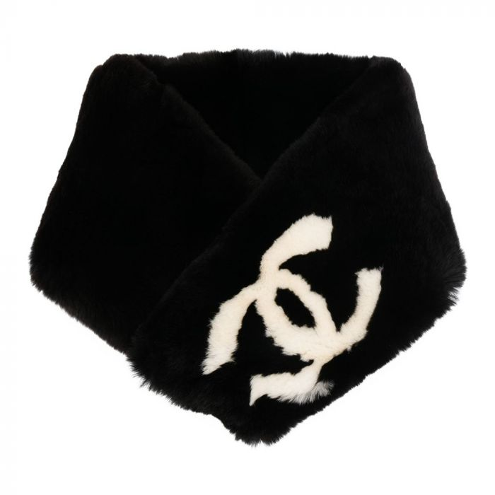 Chanel CC Logo Stole SOLD