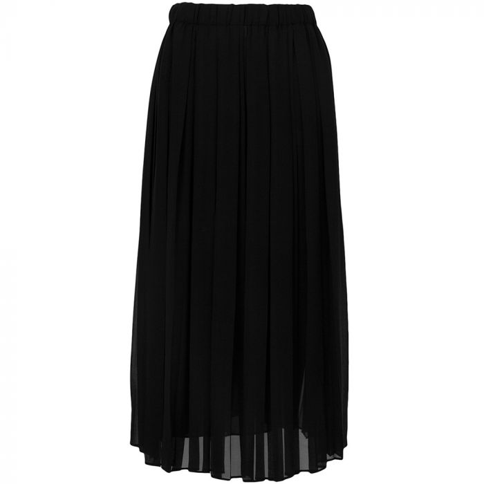 Gucci Black Pleated Skirt