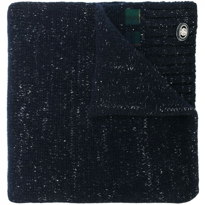 Chanel Navy Cashmere Scarf SOLD