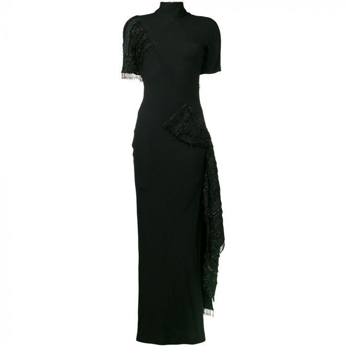 Dior Embellished Black Couture Gown SOLD