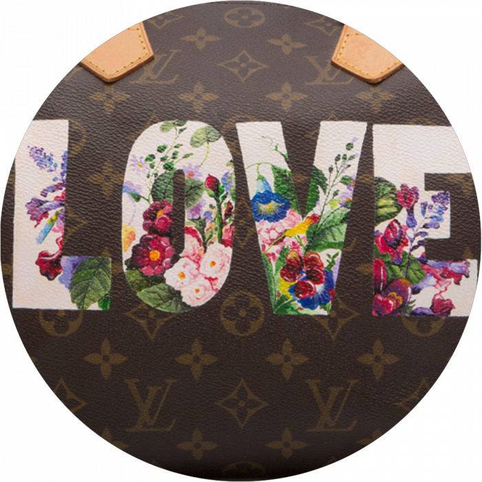 Bag Customisation Floral Love