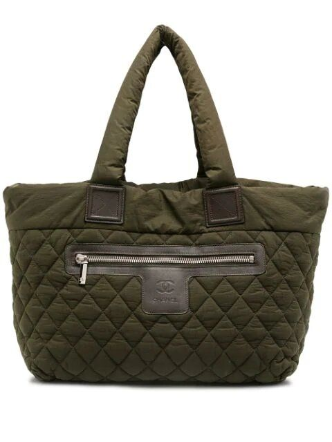 Chanel Green Coco Cocoon Handbag