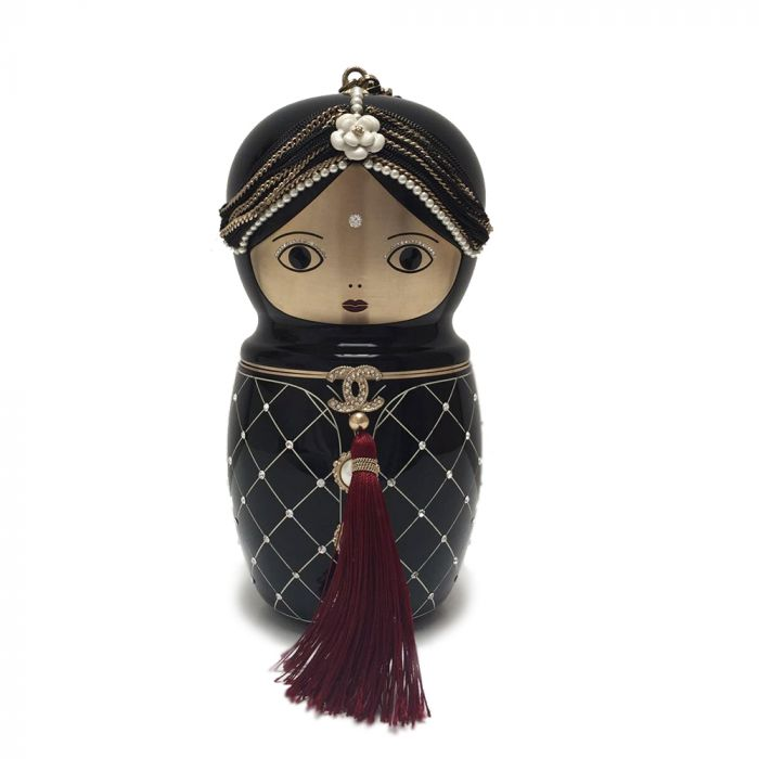 Limited Edition Chanel Bombay Doll Clutch Bag SOLD