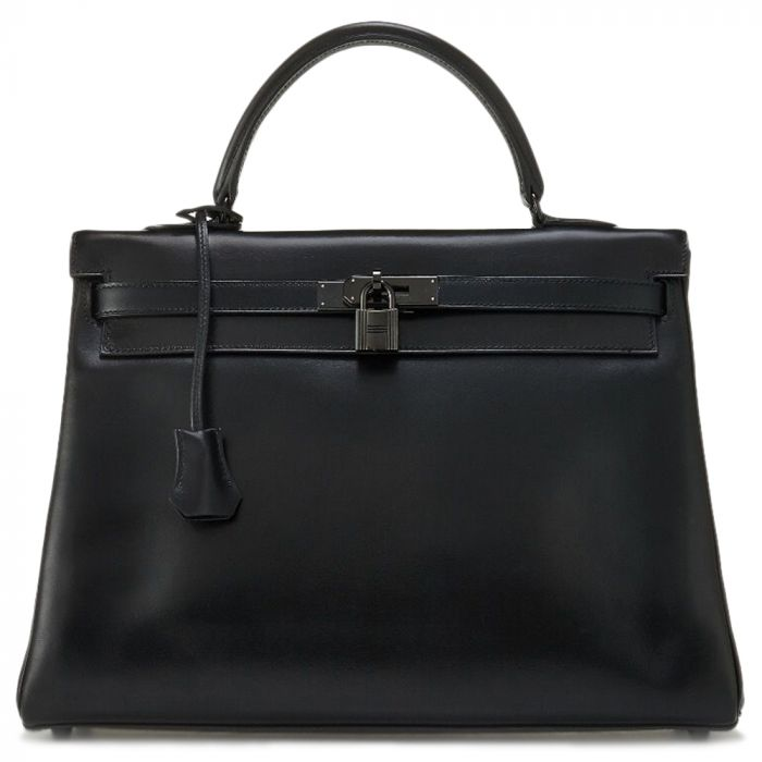Limited Edition Hermes So Black 35cm Kelly Bag SOLD