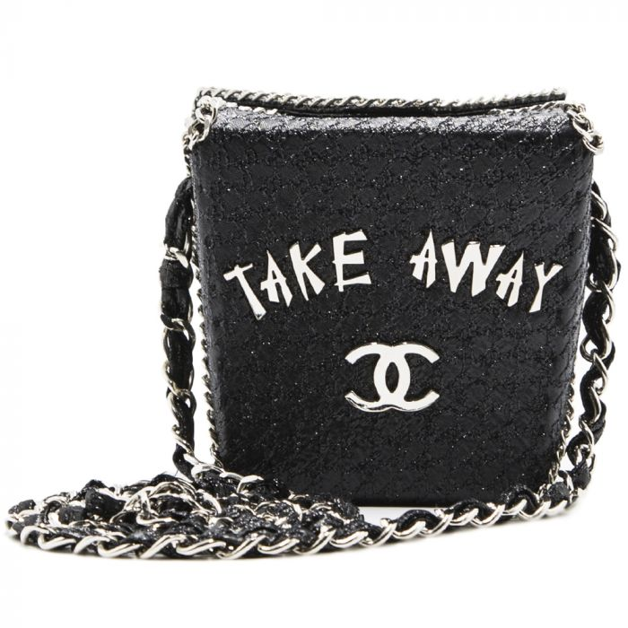 Chanel Chinese Take Away Box Bag Rare Limited Edition Runway Shanghai Collection SOLD