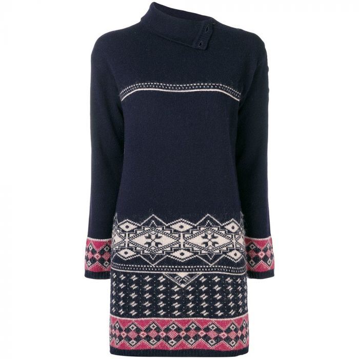 Chanel Intarsia Knitted Jumper