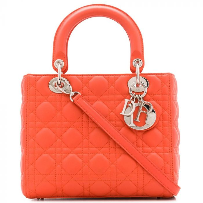 Dior 'Lady Dior' Handbag SOLD
