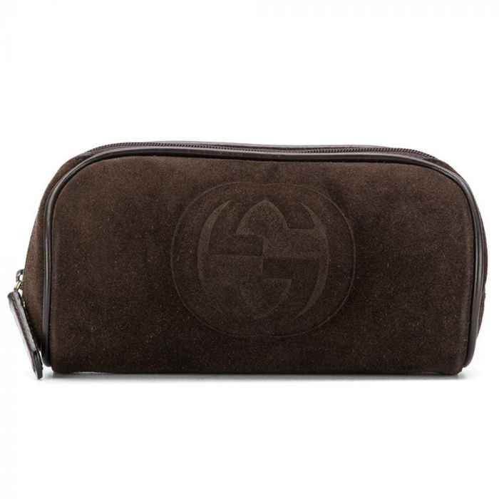 Gucci Embossed Logo Cosmetic Bag