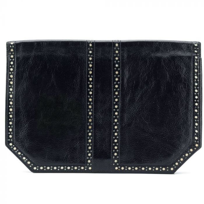 Yves Saint Laurent Perforated Clutch Bag