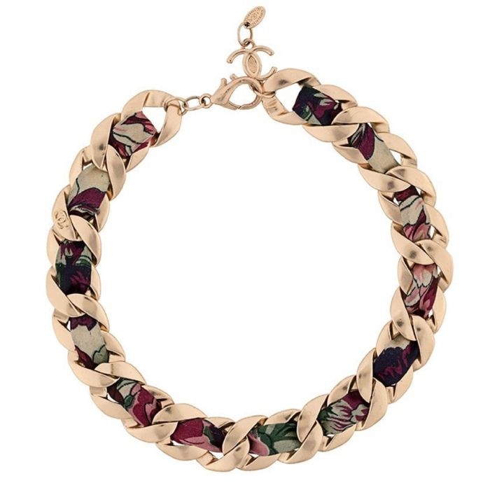 Chanel Floral Chain Necklace SOLD