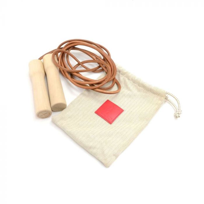 Wood and Leather Jump Rope 2013