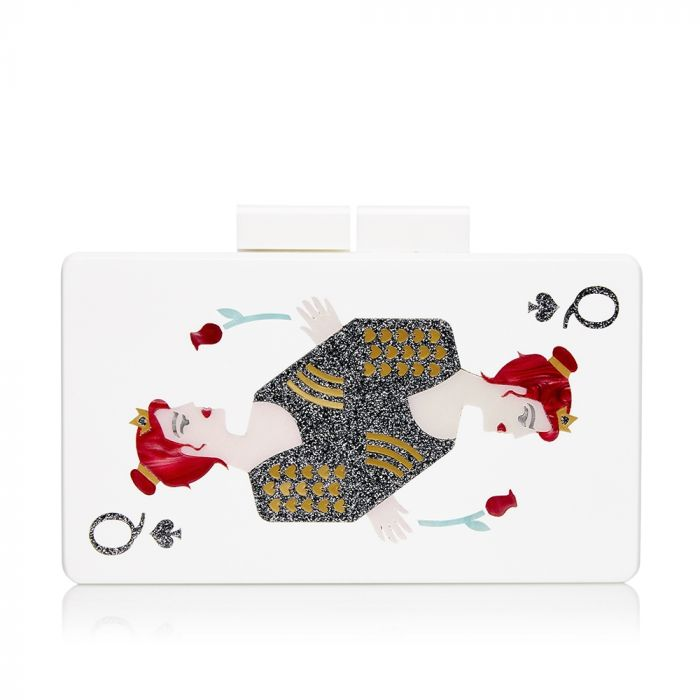 Urania Gazelli 'Queen of Hearts' Box Clutch Bag SOLD
