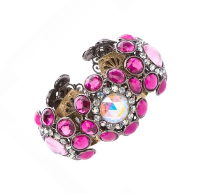 Vintage Lawrence Vrba Pink Cuff