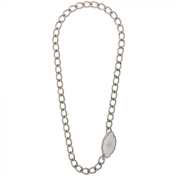 Chanel Multi Strand Chain-Link Necklace